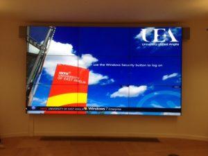 Video-Wall-East-Anglia-Univeristy
